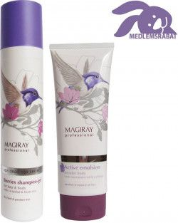 Shampoo gel & bodylotion