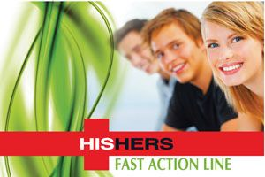 HisHers Fast Action - for oily skin