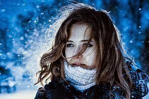 Vinterhud